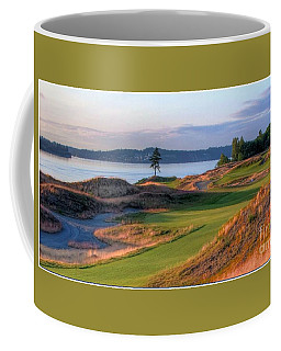 North By Northwest - Chambers Bay Golf Course Coffee Mug