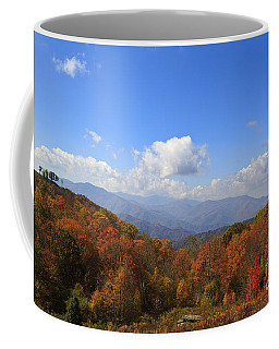 North Carolina Mountains In The Fall Coffee Mug