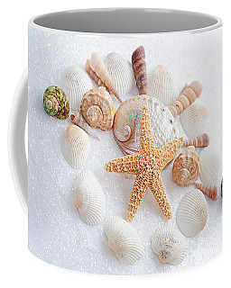 North Carolina Sea Shells Coffee Mug