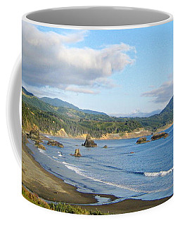 North Coast Coffee Mug by AJ  Schibig