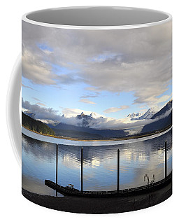 Coffee Mug featuring the photograph North Douglas Reflections by Cathy Mahnke