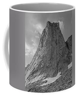 109649-bw-north Face Pingora Peak, Wind Rivers Coffee Mug