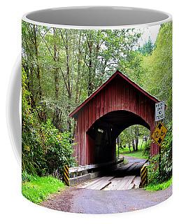 North Fork Yachats Covered Bridge Coffee Mug
