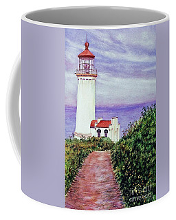 North Head Light House On The Washington Coast Coffee Mug