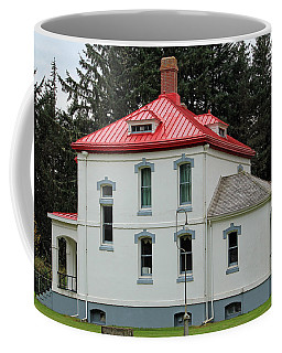 Coffee Mug featuring the photograph North Head Lighthouse Keepers Quarters by E Faithe Lester