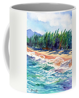 North Shore Beach 2 Coffee Mug by Marionette Taboniar