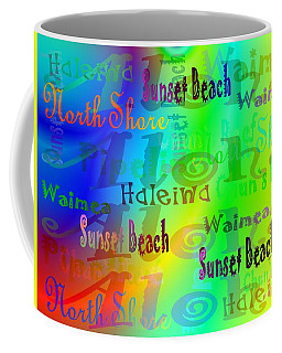 North Shore Beaches Coffee Mug