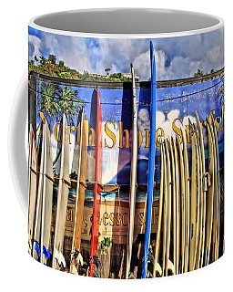 North Shore Surf Shop Coffee Mug
