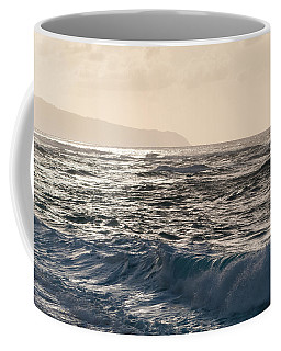 North Shore Waves Coffee Mug