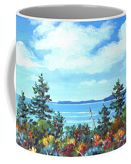 North Sky Sketch Coffee Mug