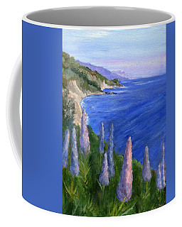 Northern California Cliffs Coffee Mug by Jamie Frier