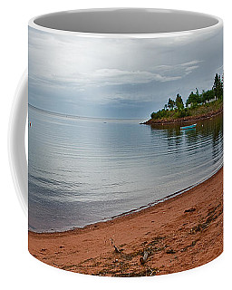 Northumberland Shore Nova Scotia Red Sand Beach Coffee Mug