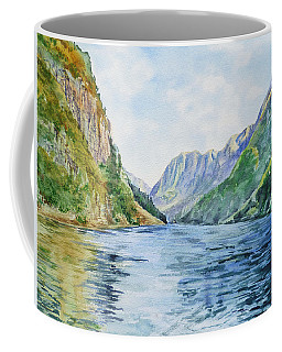 Norway Fjord Coffee Mug