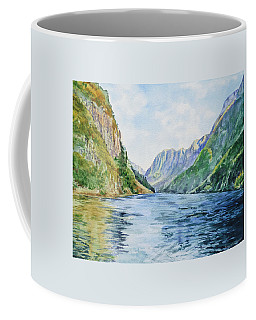 Norway Fjord Coffee Mug