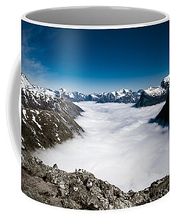 Norway In The Clouds Coffee Mug