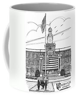 Norwich University Jackman Hall Coffee Mug