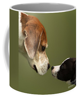 Nose To Nose Dogs 2 Coffee Mug