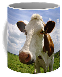 Nosy Cow Coffee Mug