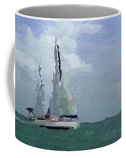 Not Far From Paradise Coffee Mug by Anthony Fishburne