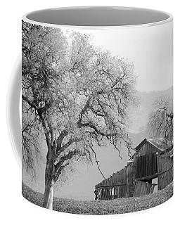 Not Much Time Left Bw Coffee Mug by Debby Pueschel