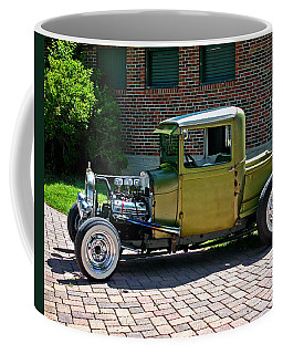 Coffee Mug featuring the photograph Not So Typical Pick-up by Christopher McKenzie