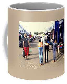 Nothing Less Than Three Graces Coffee Mug