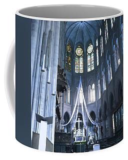 Notre Dame Altar Teal Paris France Coffee Mug