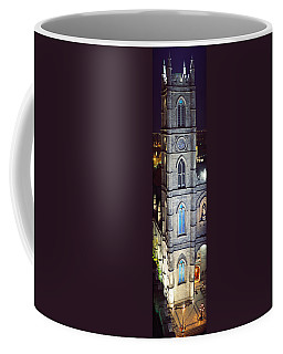 Notre Dame De Montreal At Night Coffee Mug
