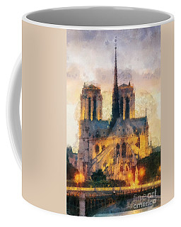 Notre Dame De Paris Coffee Mug by Mo T