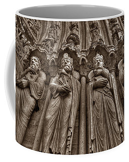 Notre Dame Facade Detail Coffee Mug