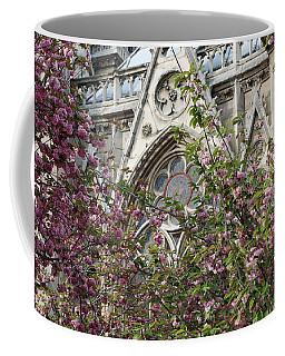 Notre Dame In April Coffee Mug