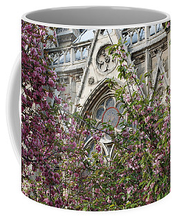 Notre Dame In April Coffee Mug