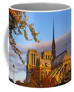 Notre Dame Sunrise Coffee Mug