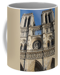 Coffee Mug featuring the photograph Notre Dame by Tiffany Erdman