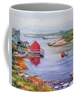 Nova Scotia Harbor Coffee Mug