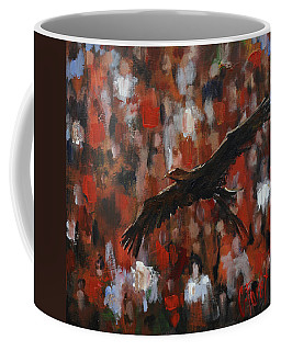Novas Flight Coffee Mug by Carole Foret