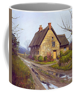 November Cottage  Coffee Mug by Michael Swanson