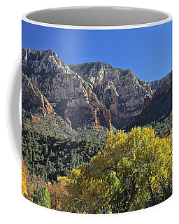 Coffee Mug featuring the photograph November In Sedona by Penny Meyers