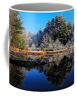 November Snow Coffee Mug by Mim White