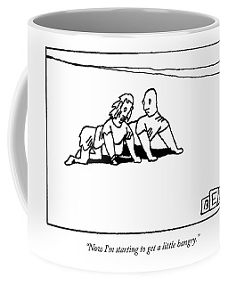 Now I'm Starting To Get A Little Hangry Coffee Mug