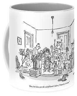 Now, Last Time, Near The End Of Ravel's 'bolero,' Coffee Mug