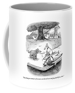 Now That You Mention Coffee Mug