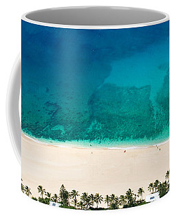 Pipeline Reef From Above Coffee Mug
