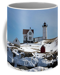 Nubble Light 2 Coffee Mug by Kevin Fortier