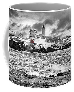 Nubble Lighthouse After The Storm Coffee Mug