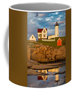 Nubble Lighthouse No 1 Coffee Mug by Jerry Fornarotto
