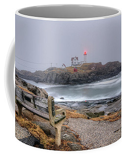 Nubble Lighthouse View Coffee Mug