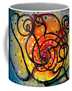 Nuclear Fusion Coffee Mug by Regina Valluzzi