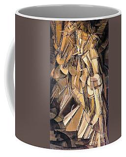 Nude Descending A Staircase Coffee Mug