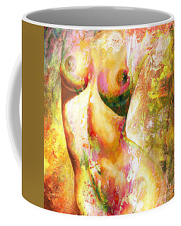 Nude Details - Digital Vibrant Color Version Coffee Mug